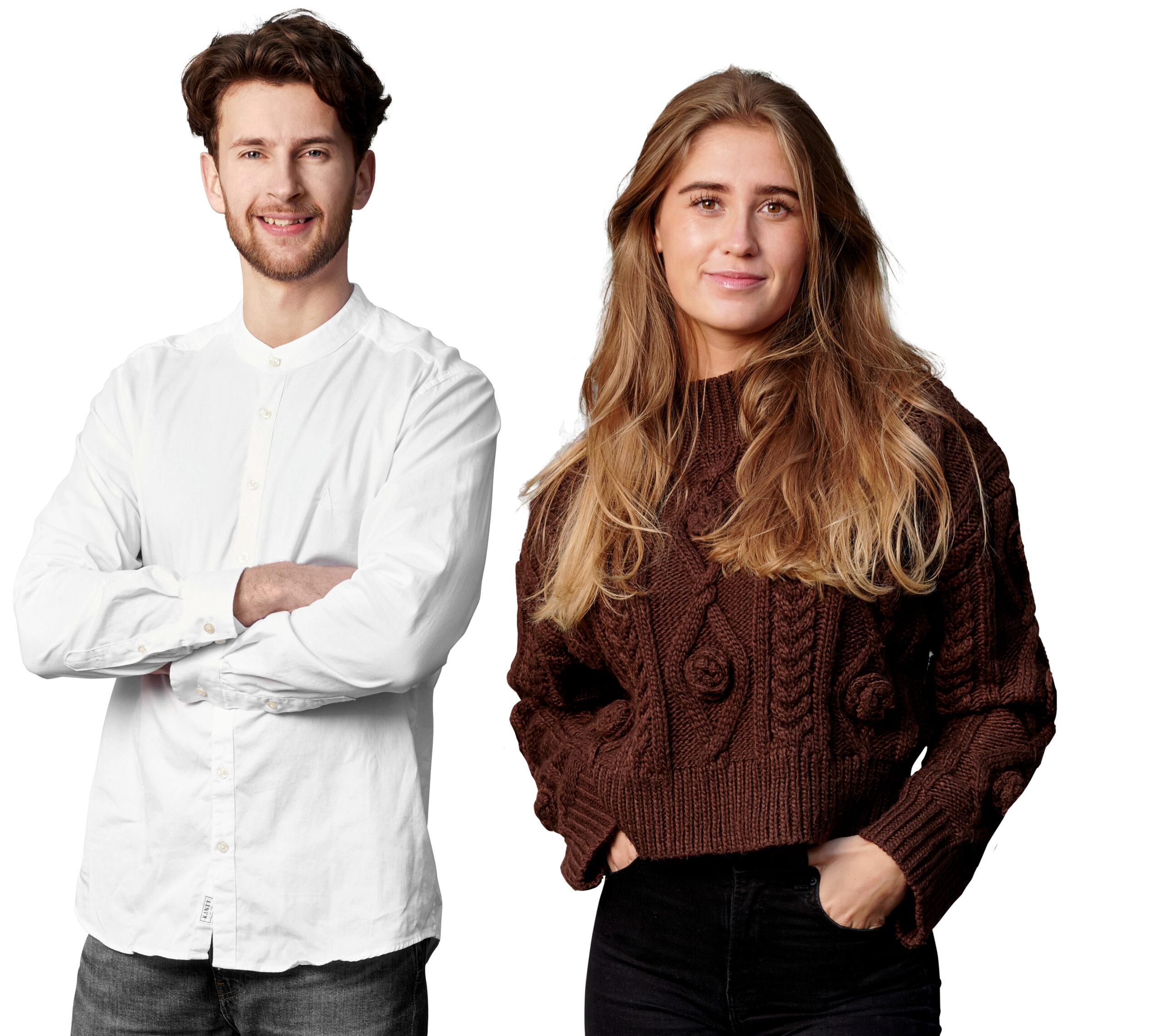 En kvinde og en mand